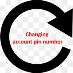 Changing Account PIN Number (free 1st time) 1